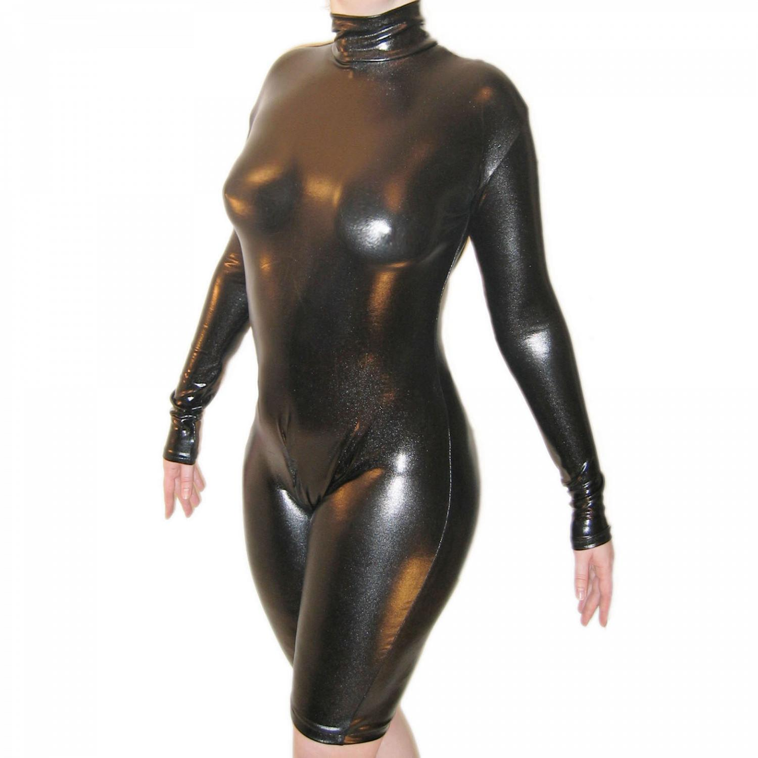 Wetlook Body mit langen Armen + SRV 1