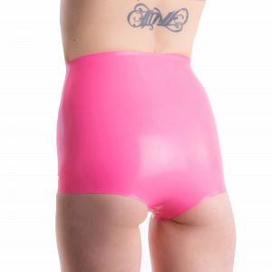 Latex Hot Pants für Damen und Herren 11