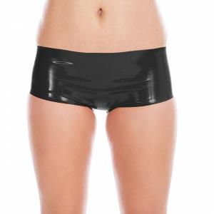 Knappe Latex Hot Pants für Damen und Herren  20