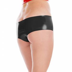 Knappe Latex Hot Pants für Damen und Herren  18