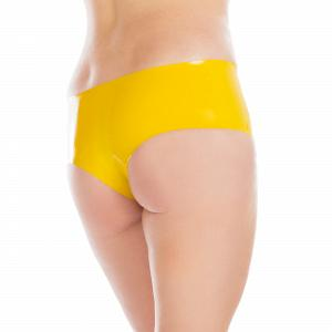 Knappe Latex Hot Pants für Damen und Herren  2