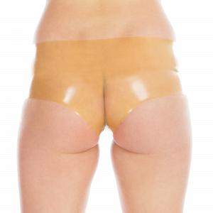 Knappe Latex Hot Pants für Damen und Herren  5