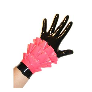 Latex wristband with frills 3