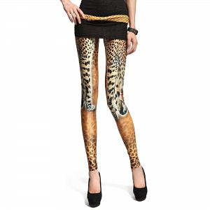 Sexy Stretch Leggings mit Tiger Muster 7