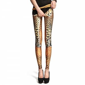 Sexy Stretch Leggings mit Tiger Muster 6