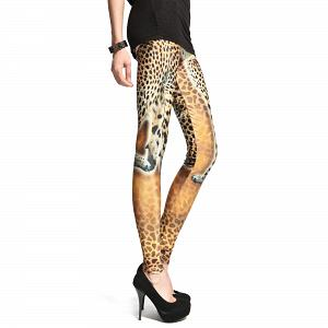 Sexy Stretch Leggings mit Tiger Muster 4