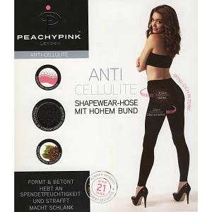 PEACHY PINK LONDON SLIMMING SHAPEWEAR ANTI-CELLULITE HOSE LEGGINGS MIT HOHEM BUN 8